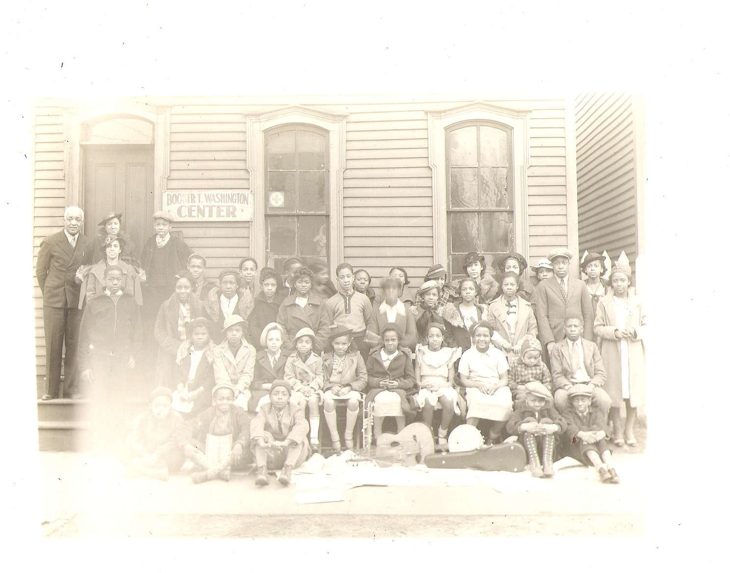 Booker T. Washington Center - Earl L. and Group