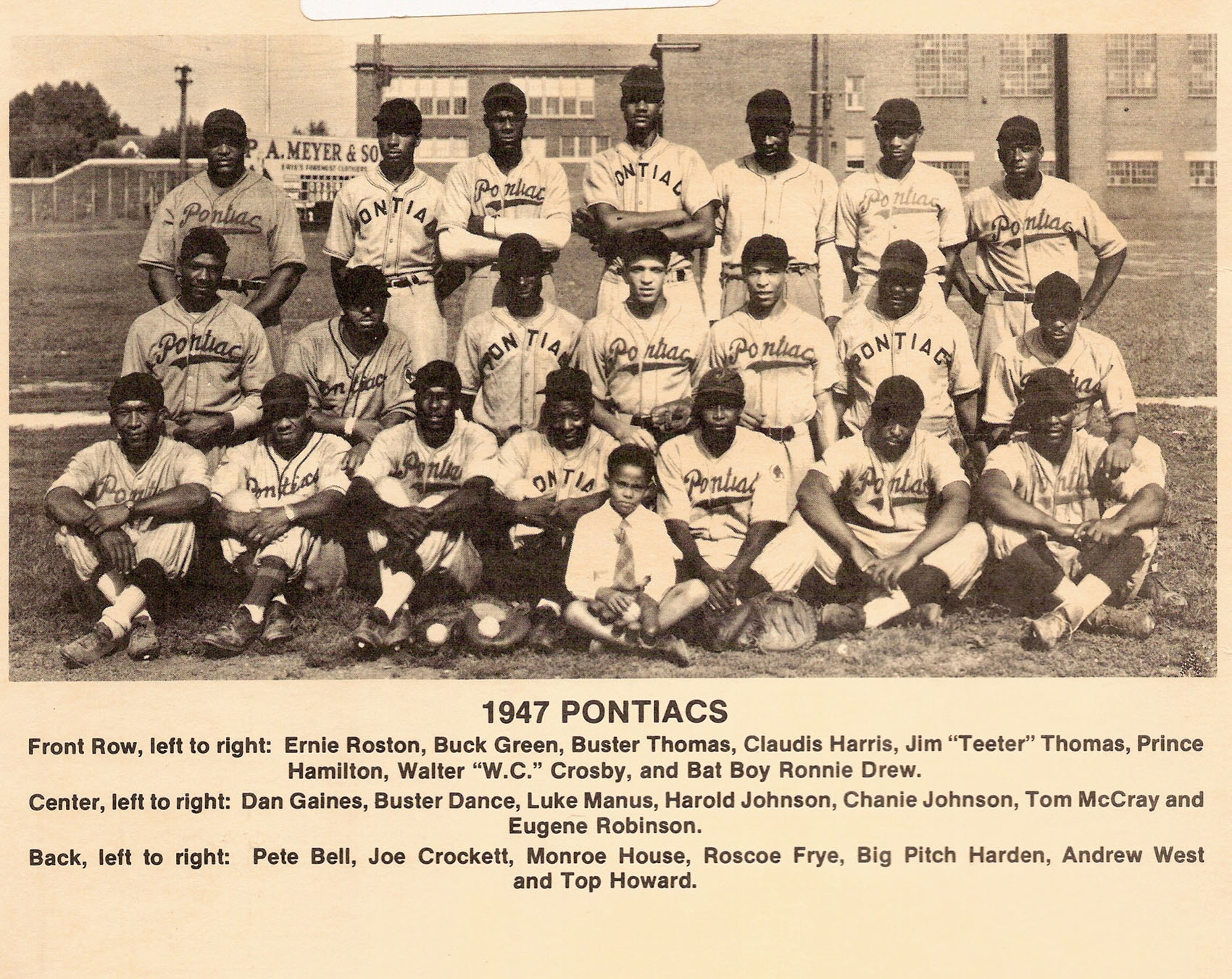 Pontiacs 1947